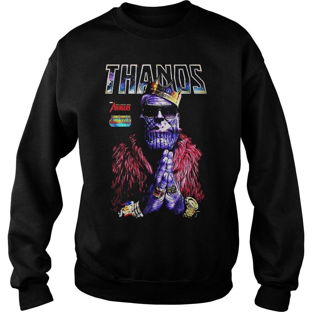 Thanos King Of Golden Sweater