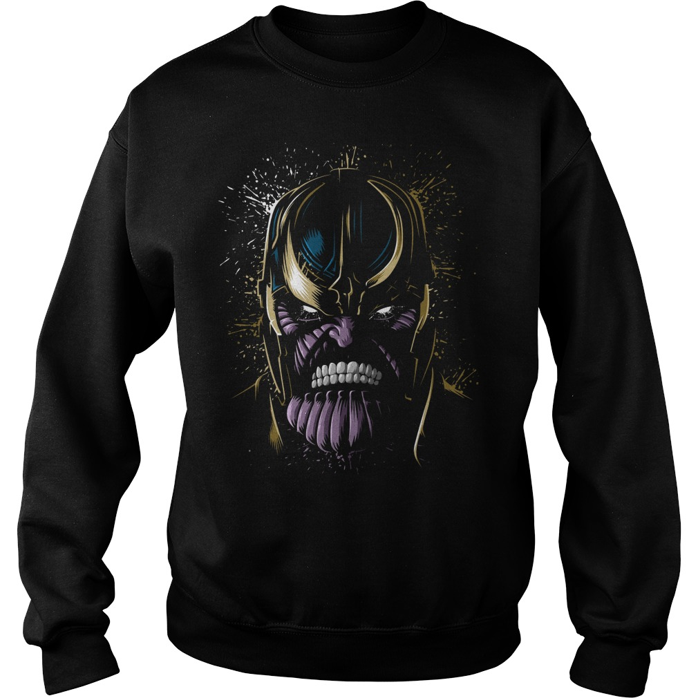 The Face Of Thanos Sweater