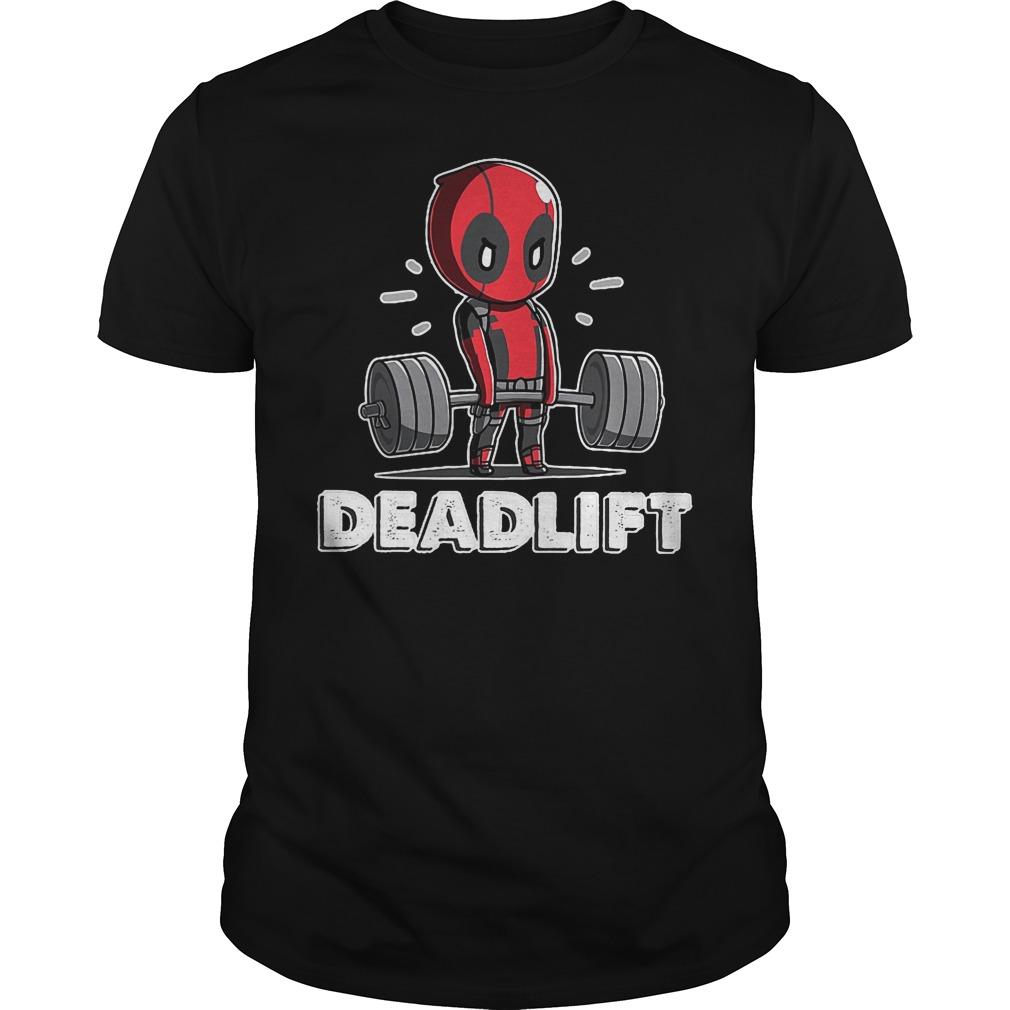 Deadpool Deadlift Shirt