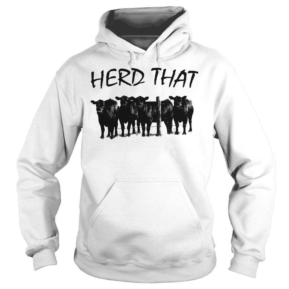 Farmer Cow Herd That Hoodie