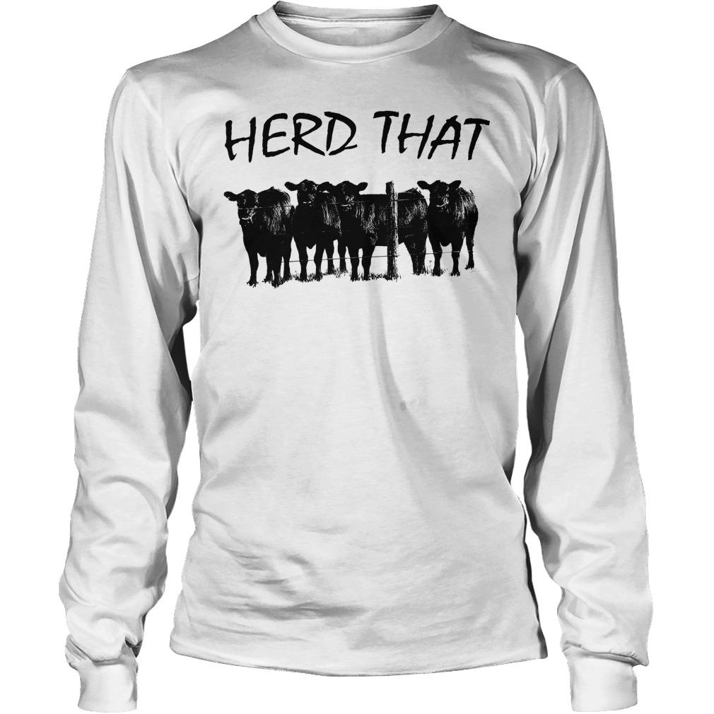 Farmer Cow Herd That Longsleeve
