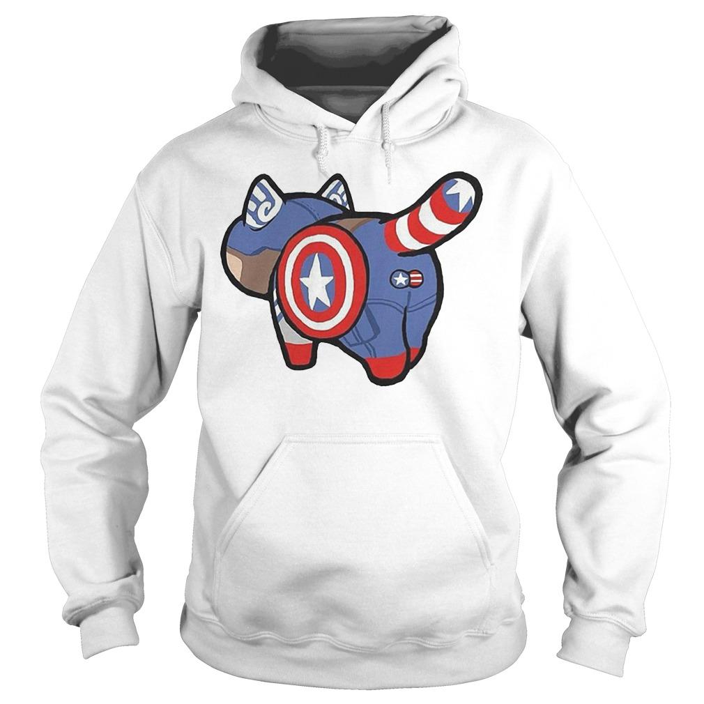 Funny Cat Captain Catvengers Hoodie