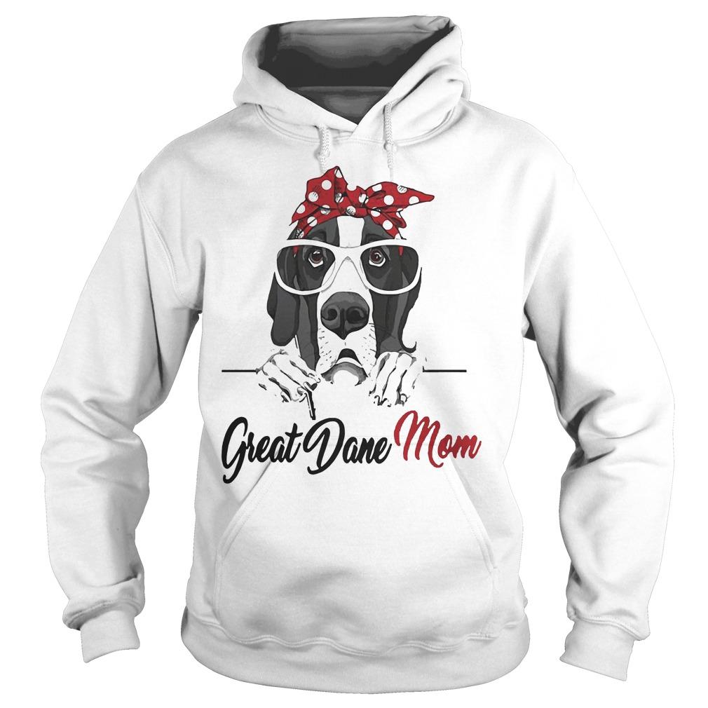 Great Dane Mom Hoodie