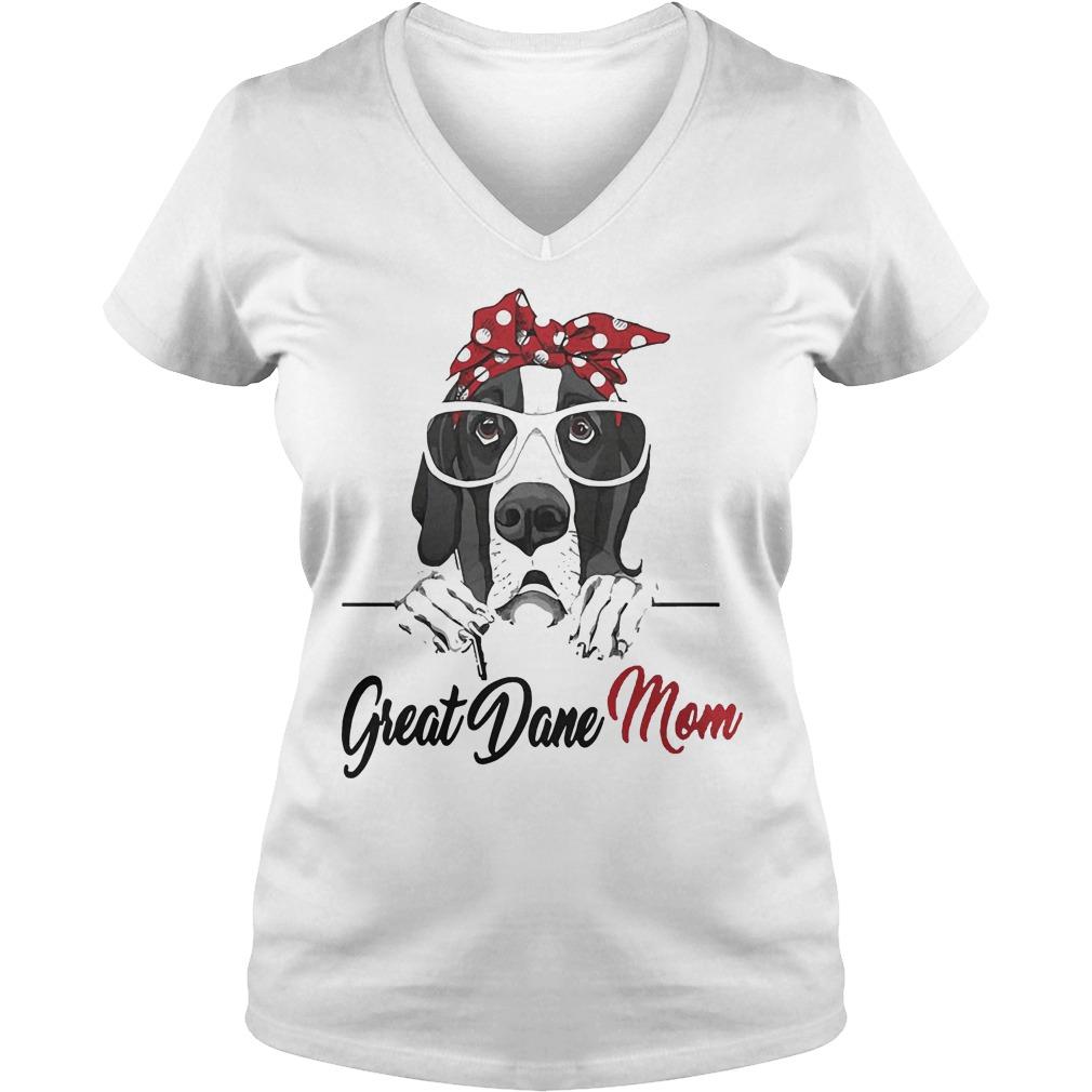 Great Dane Mom V Neck