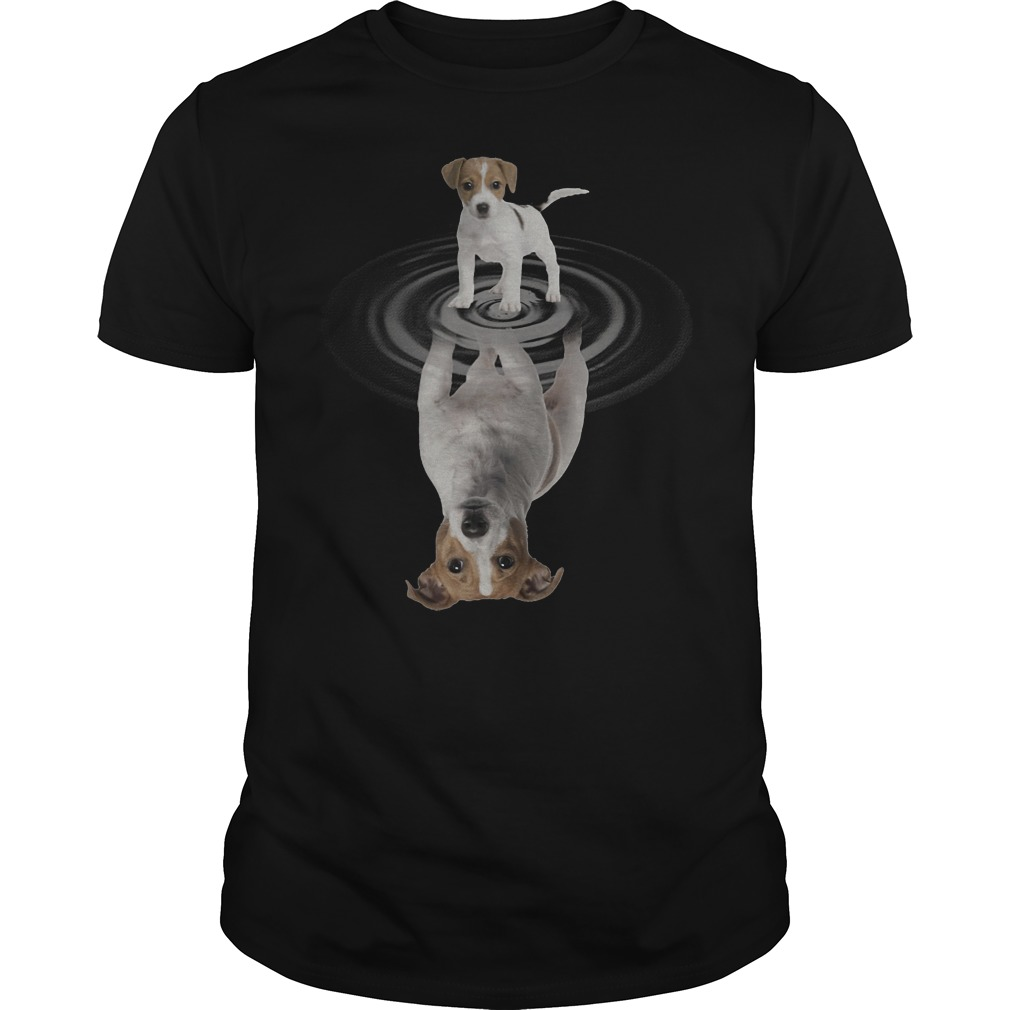 Jack Russell In The Mirror Shirt