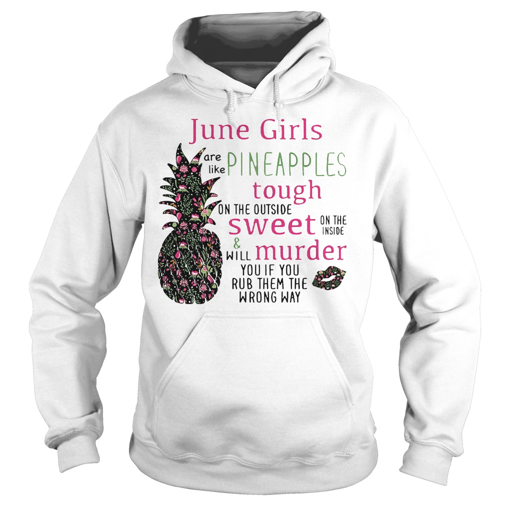 June Girls Pineapples Hoodie
