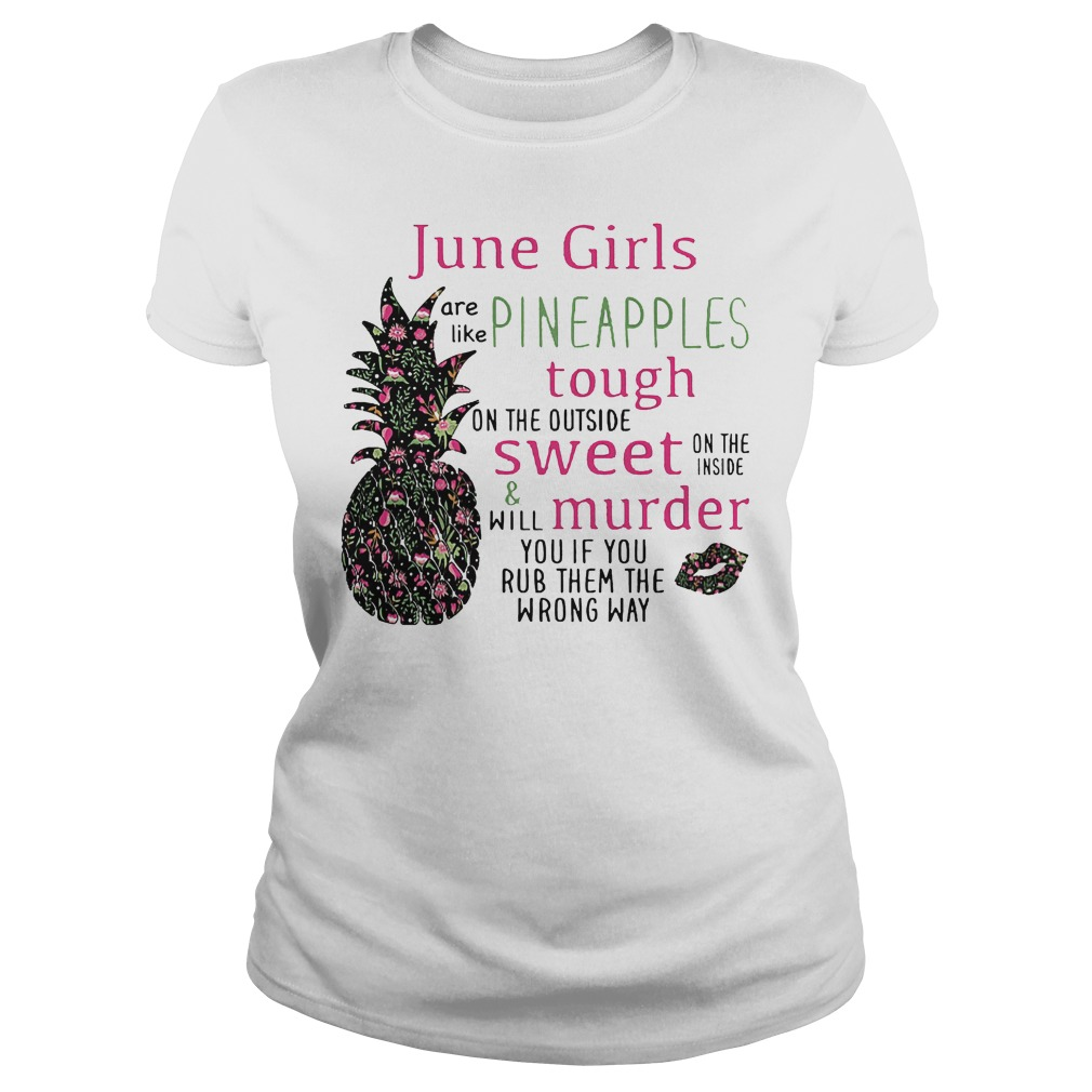 June Girls Pineapples Ladies