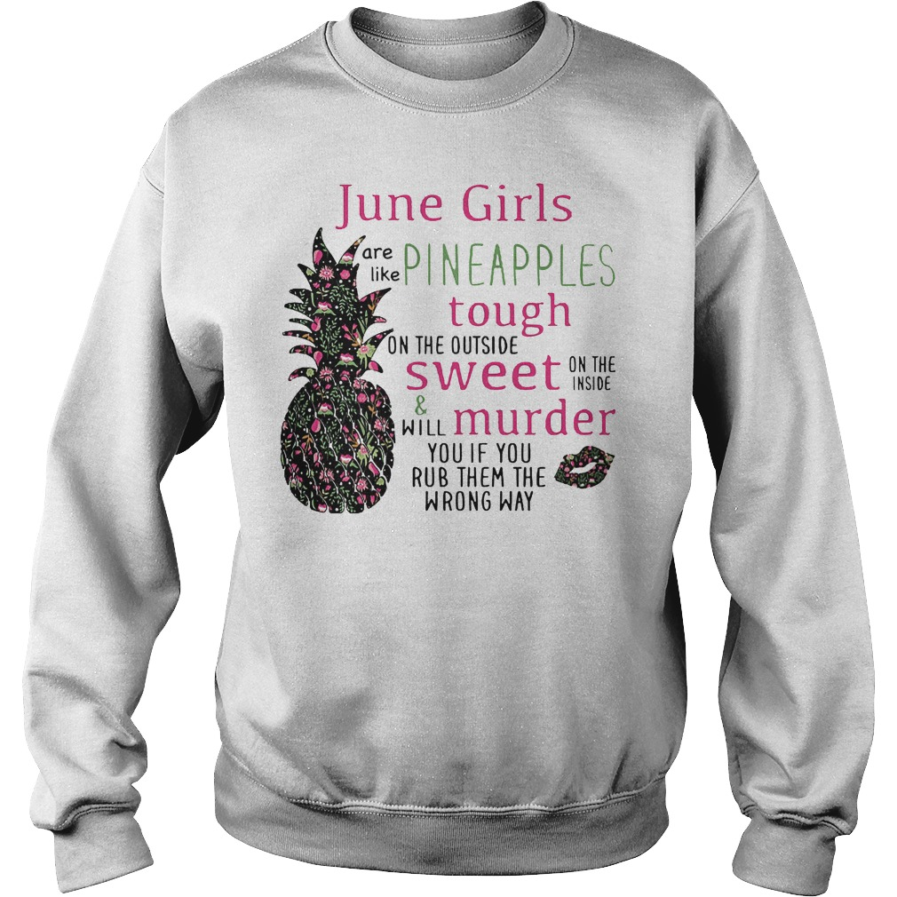 June Girls Pineapples Sweater