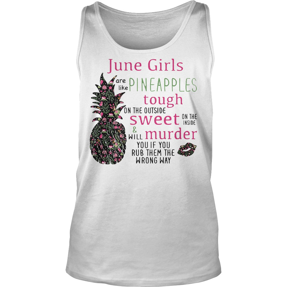 June Girls Pineapples Tanktop