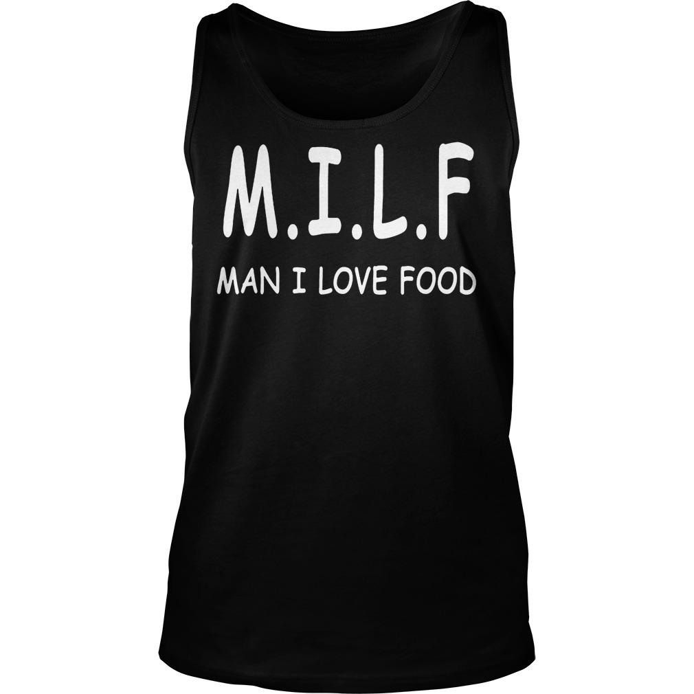 M.i.l.f Man I Love Food Tanktop