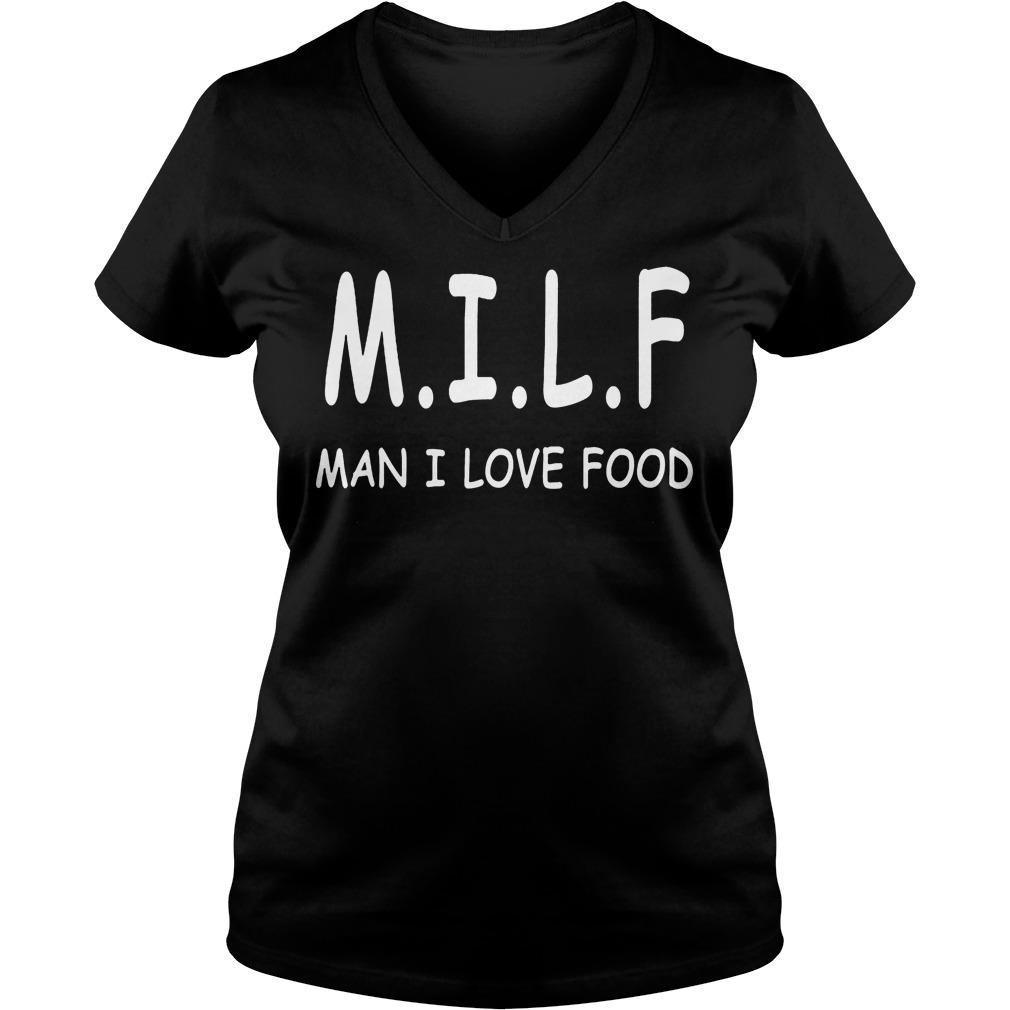 M.i.l.f Man I Love Food V Neck