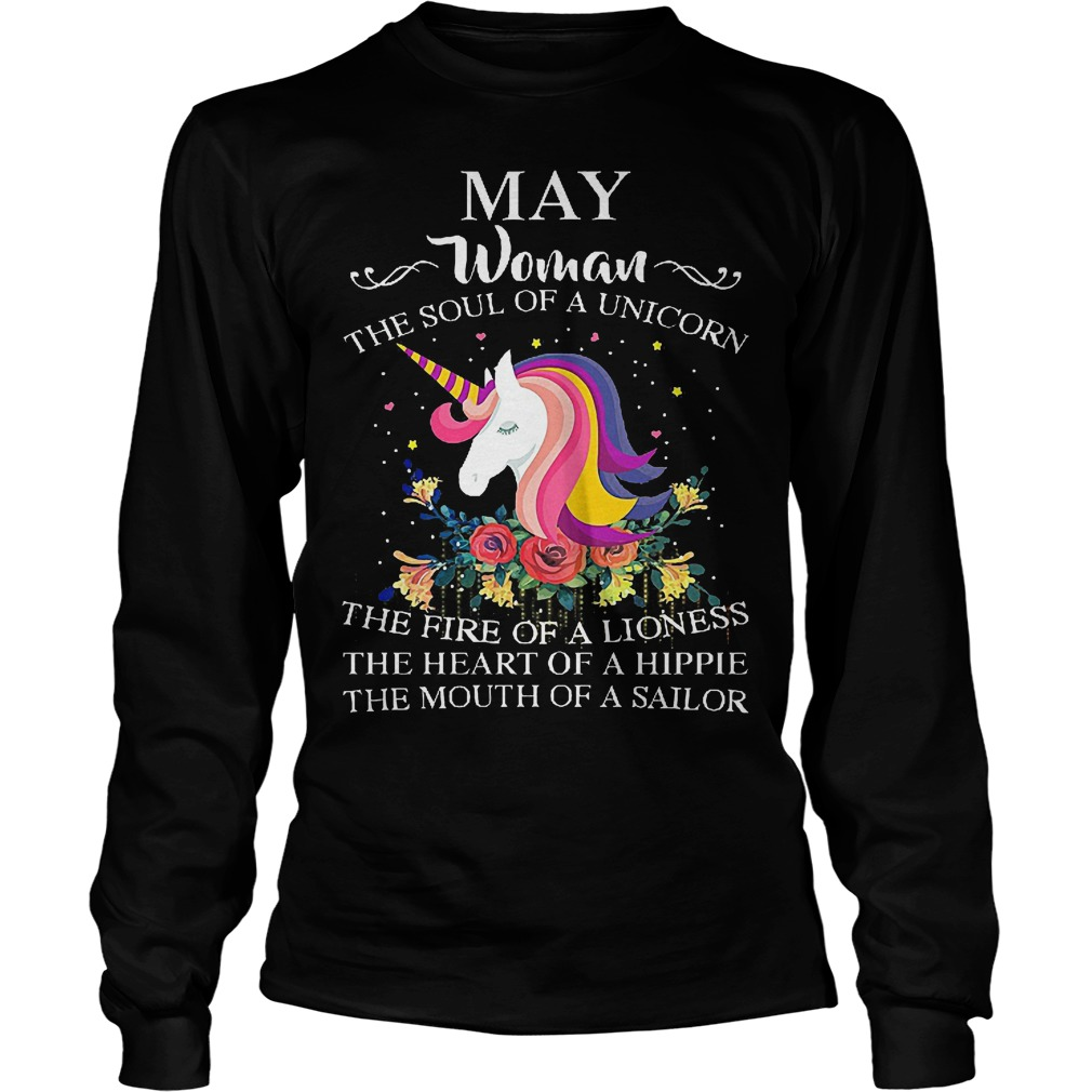May Woman The Soul Of A Unicorn Longsleeve