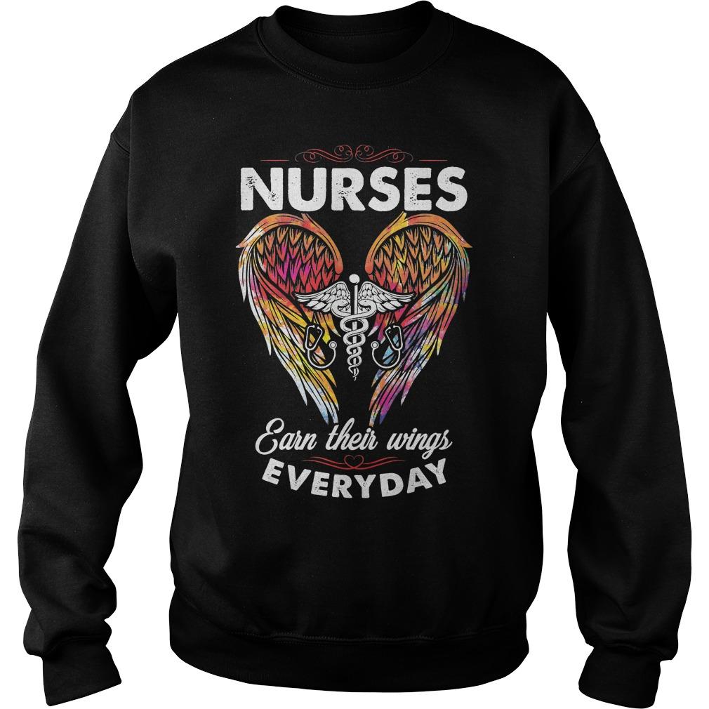 Nurses Earn Their Wings Everyday Sweater