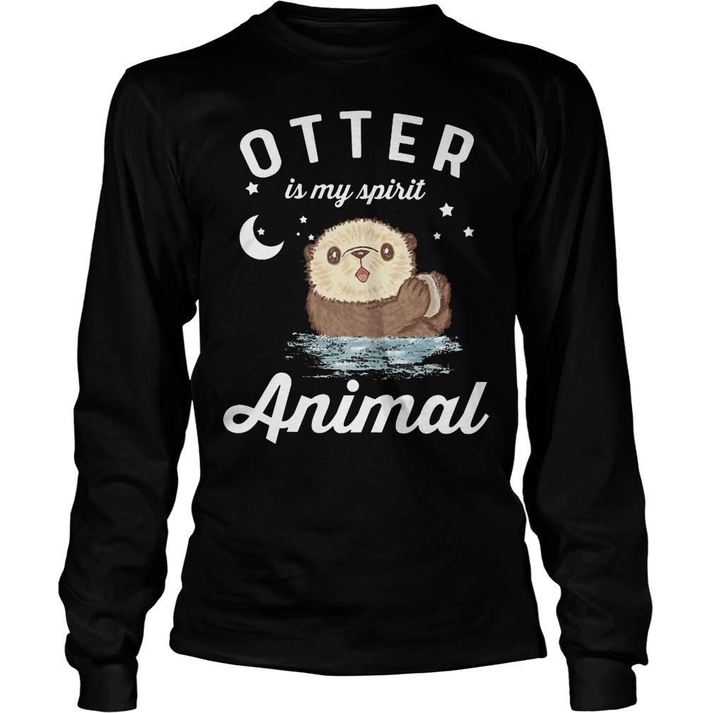 Otter Is My Spirit Animal Longsleeve