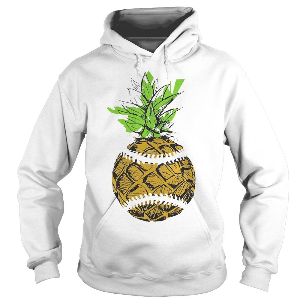 Pinaple Baseball Hoodie