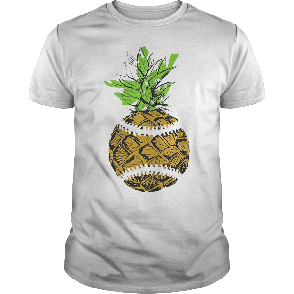Pinaple Baseball Shirt