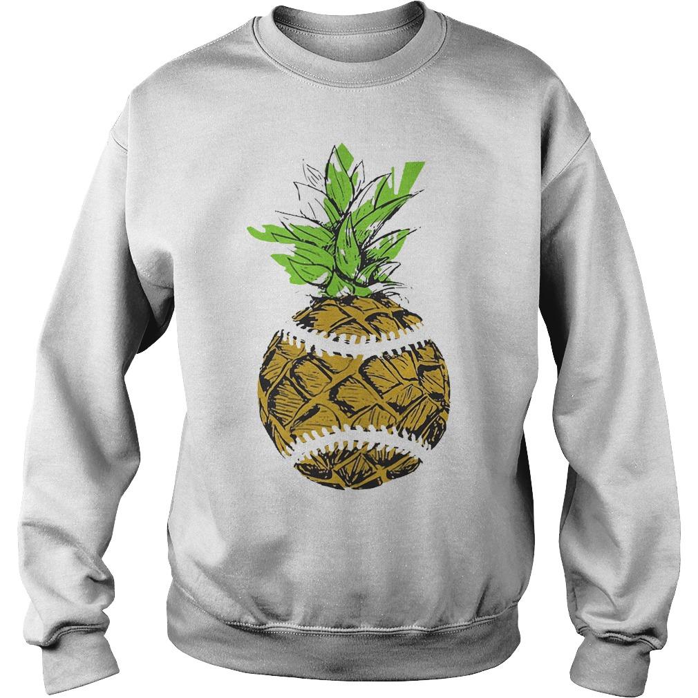 Pinaple Baseball Sweater