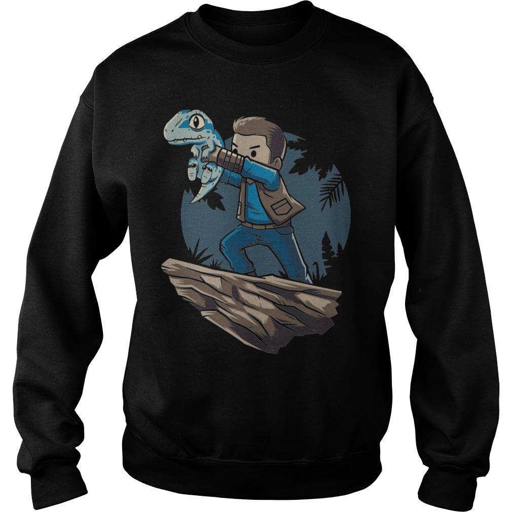 The Raptor King Jurassic World 2018 Sweater
