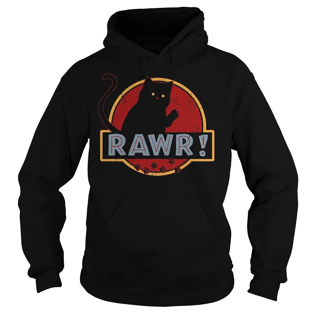 Black Cat Rawr Hoodie
