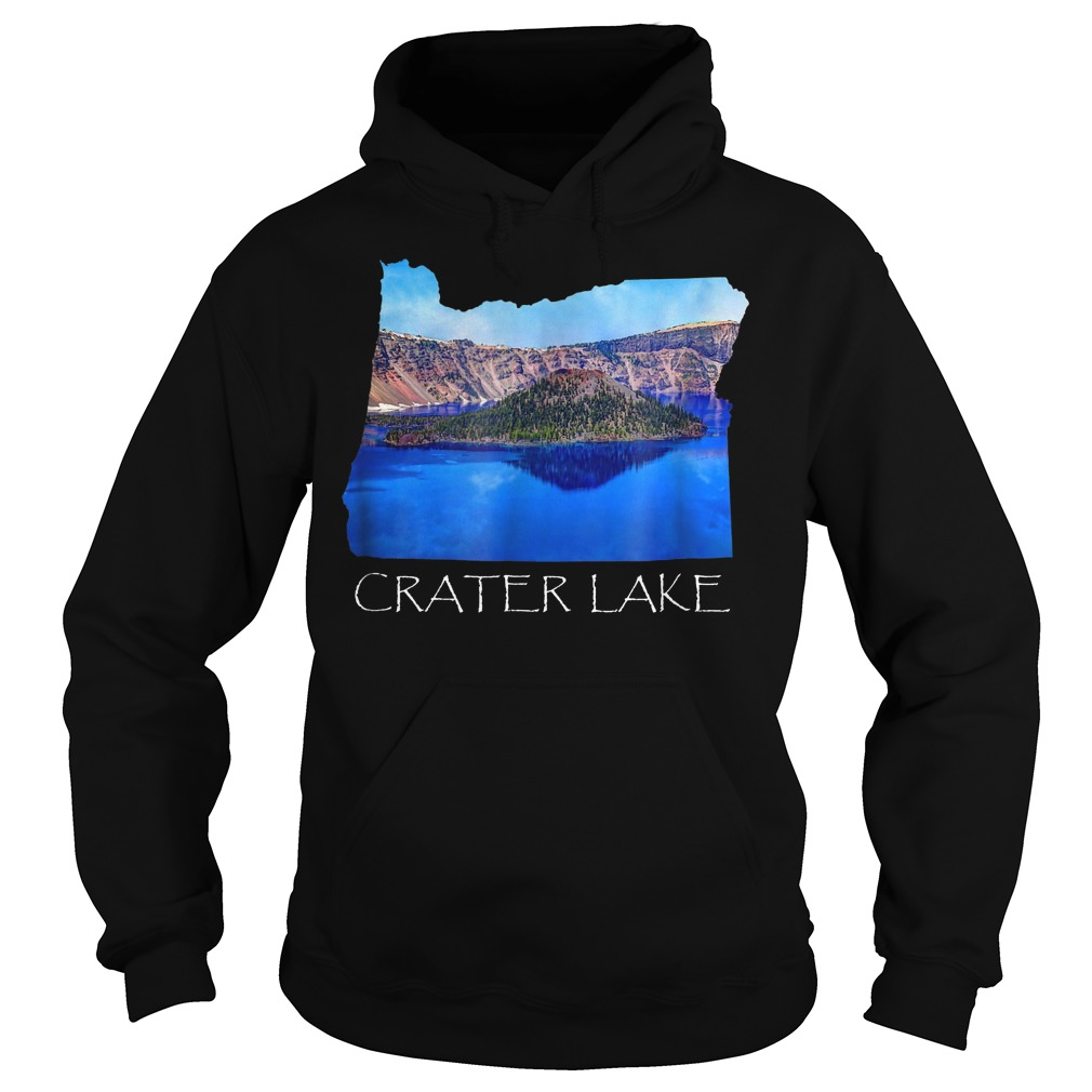 Crater Lake National Park Photo in Oregon State Souvenir T-Shirt Hoodie