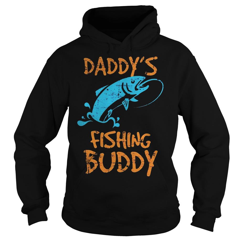 Daddy's Fishing Buddy Hoodie