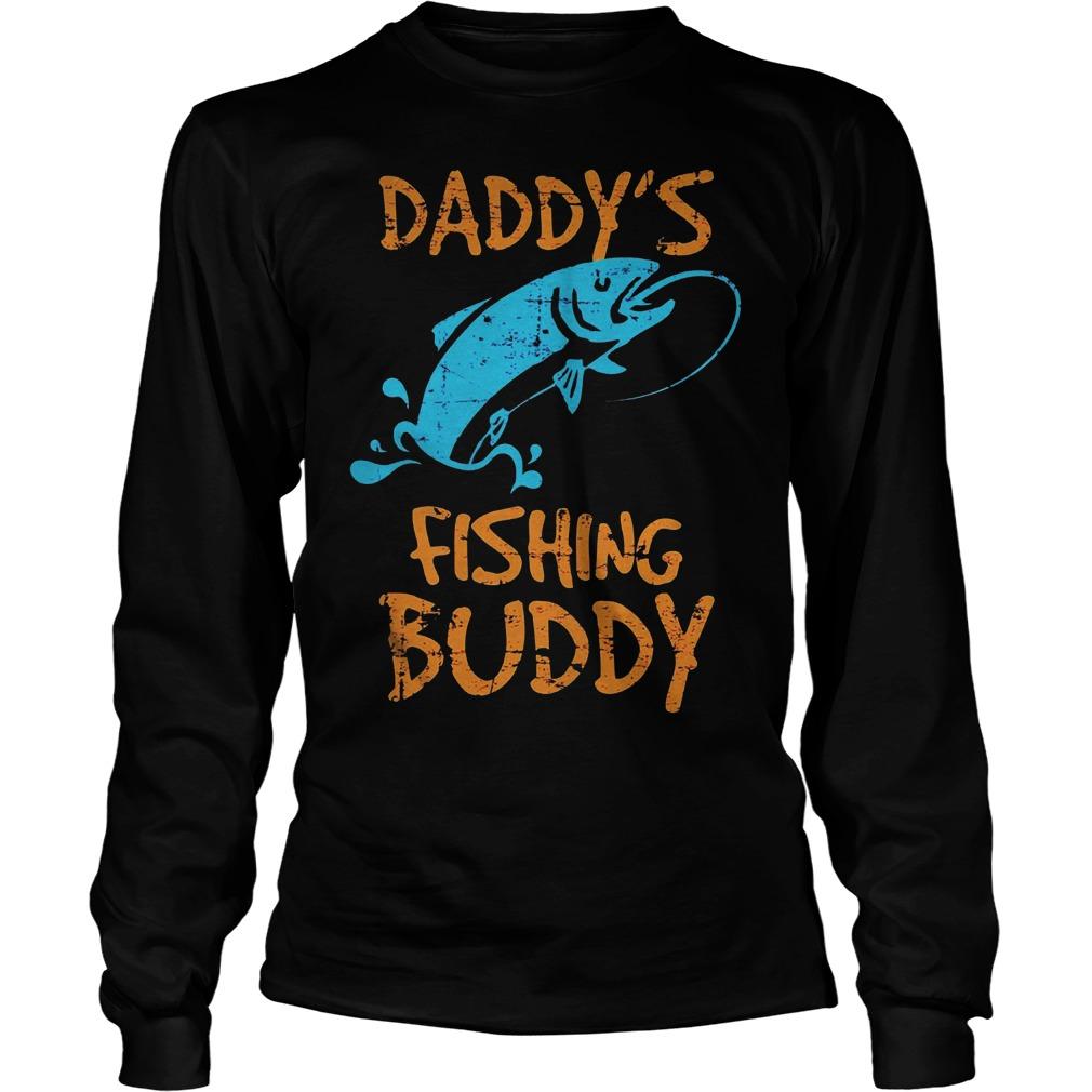 Daddy's Fishing Buddy Longsleeve