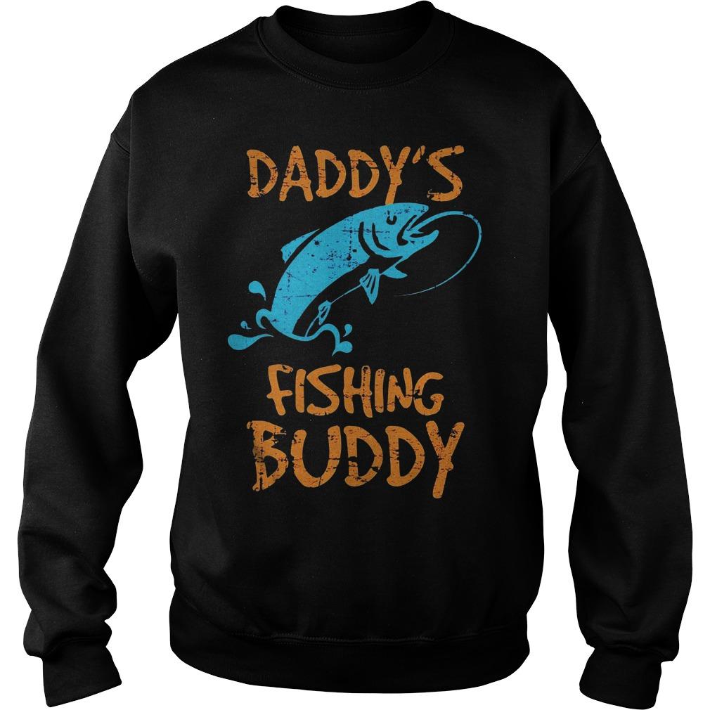 Daddy's Fishing Buddy Sweater