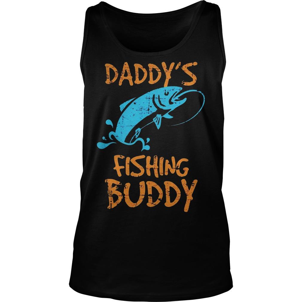 Daddy's Fishing Buddy Tanktop