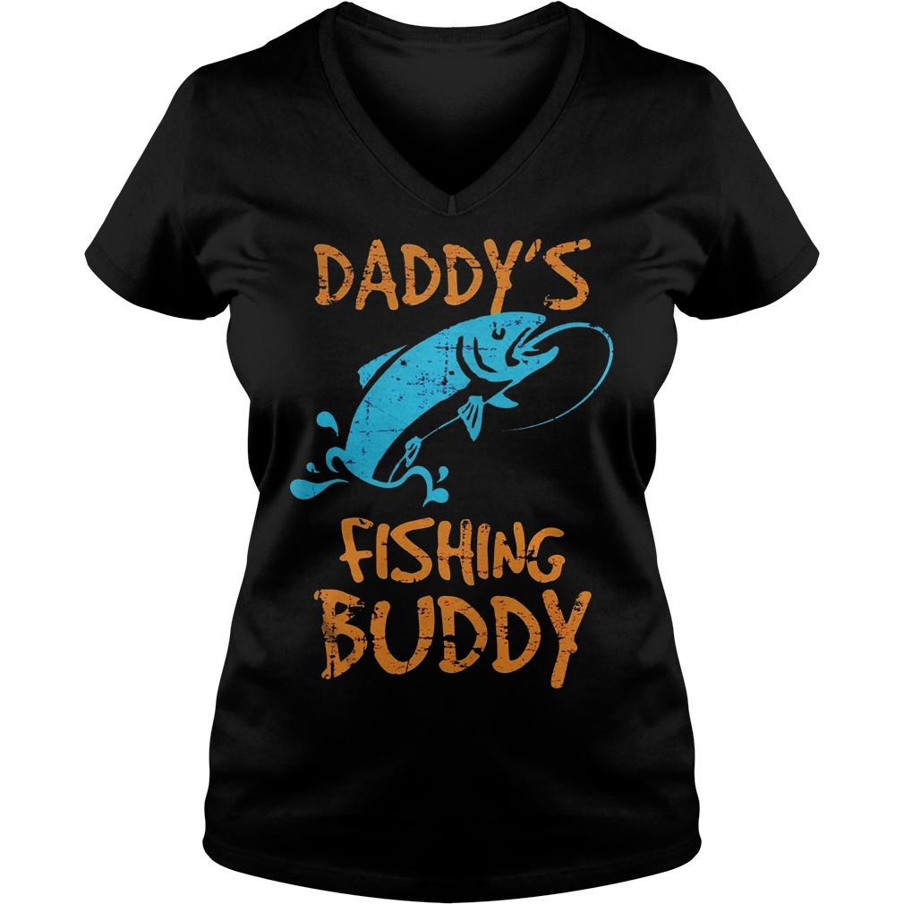 Daddy's Fishing Buddy V Neck