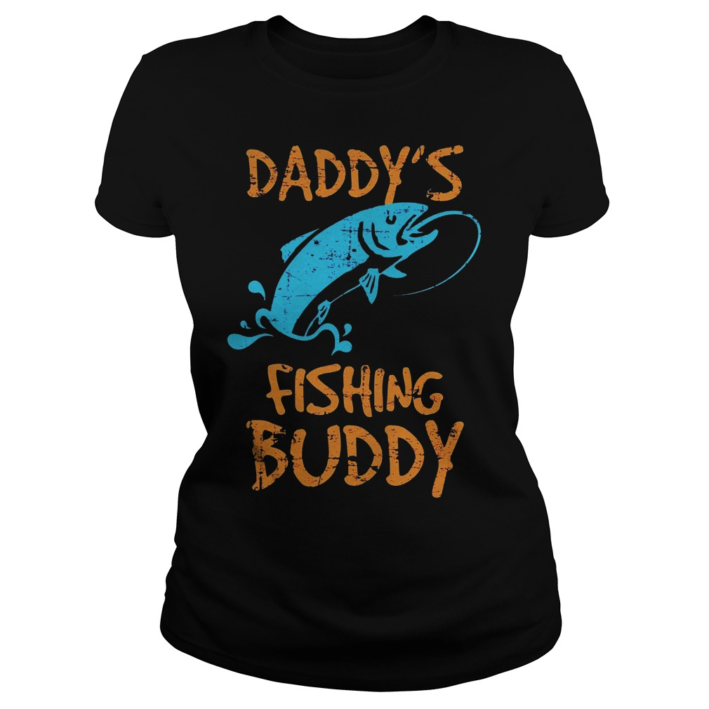 Daddy's Fishing Buddy Ladies