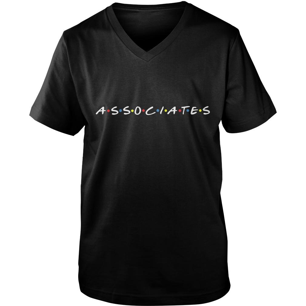 Friends Associates Really T-Shirt Guys V-Neck