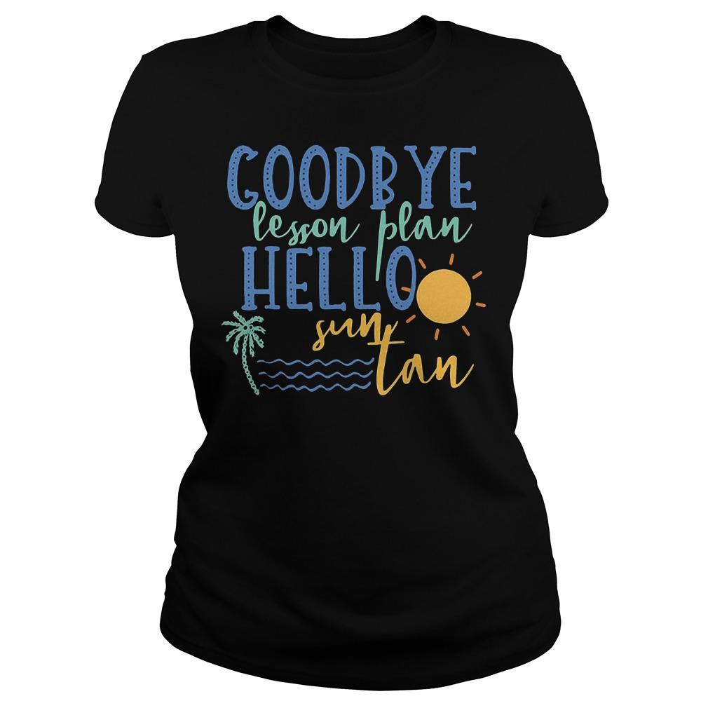 Goodbye Lesson Plan Hello Sun Tan Ladies