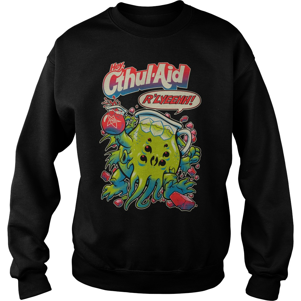 Hey Cthul.aid R'lyeh Sweater