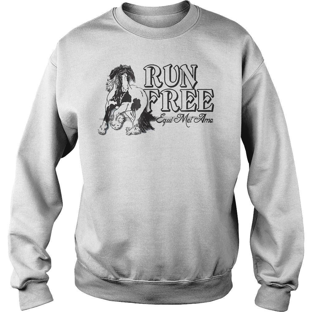Horse Run Free Equi Mei Amo Sweater