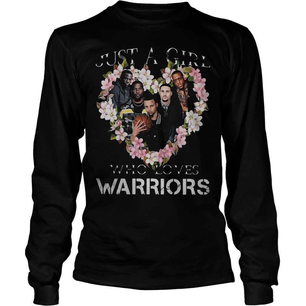 Just A Girl Who Loves Warriors Longsleeve