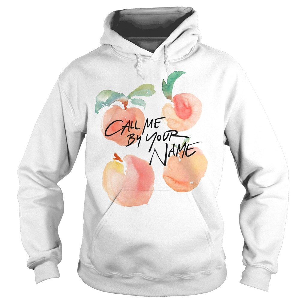 Lgbt Call Me By Your Name Peaches Hoodie