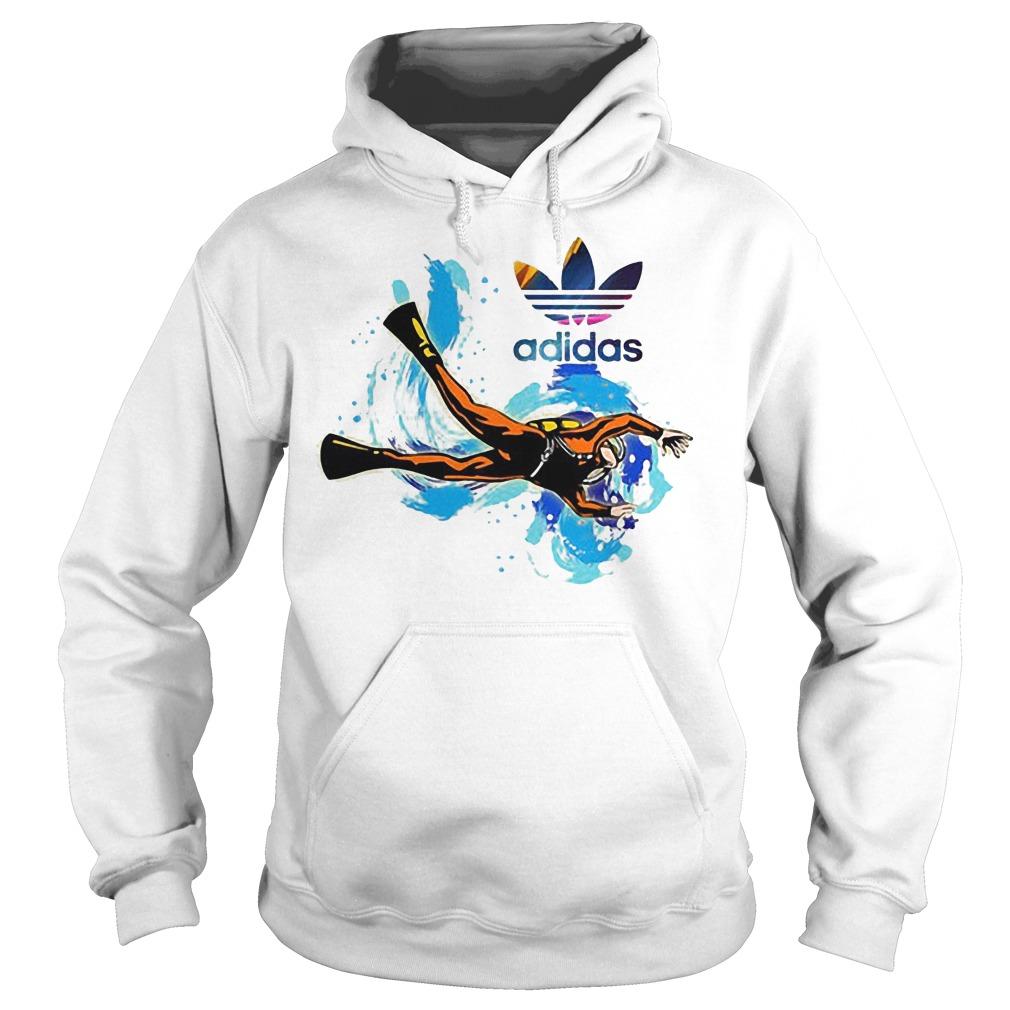 Logo Adidas Scuba Diving Hoodie