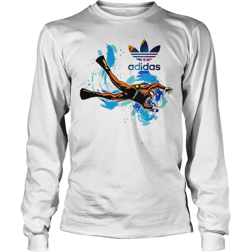 Logo Adidas Scuba Diving Longsleeve