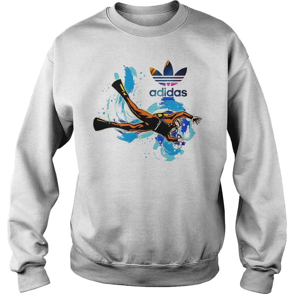 Logo Adidas Scuba Diving Sweater