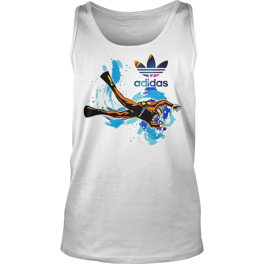 Logo Adidas Scuba Diving Tanktop