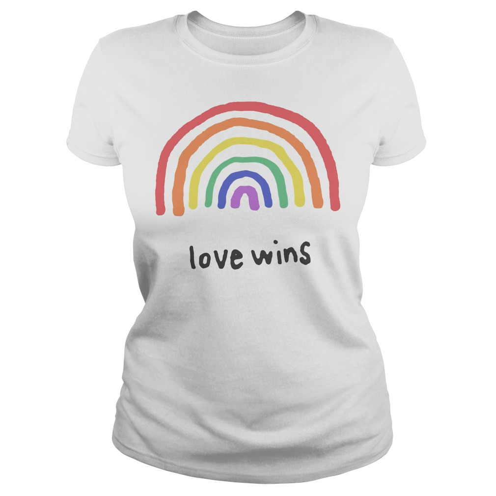 Love Wins Rainbows Lgbt Ladies