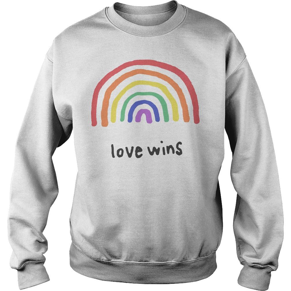 Love Wins Rainbows Lgbt Sweater