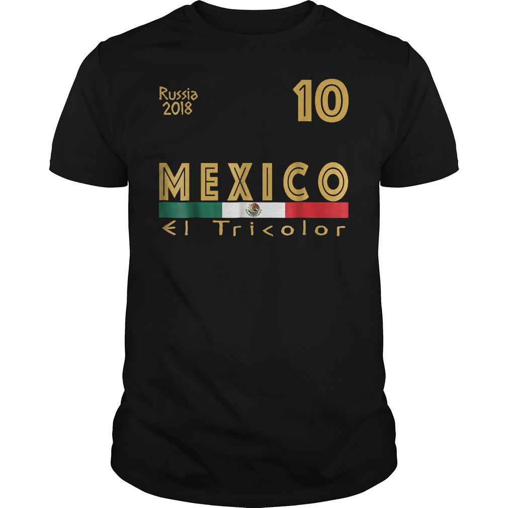 Mexico Soccer Jersey World Football 2018 T Shirt