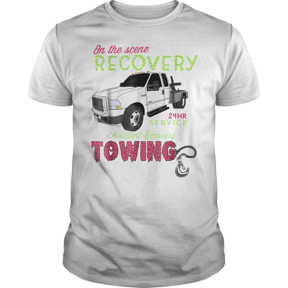 On The Scene Recovery 24 Hr Service T Shirt