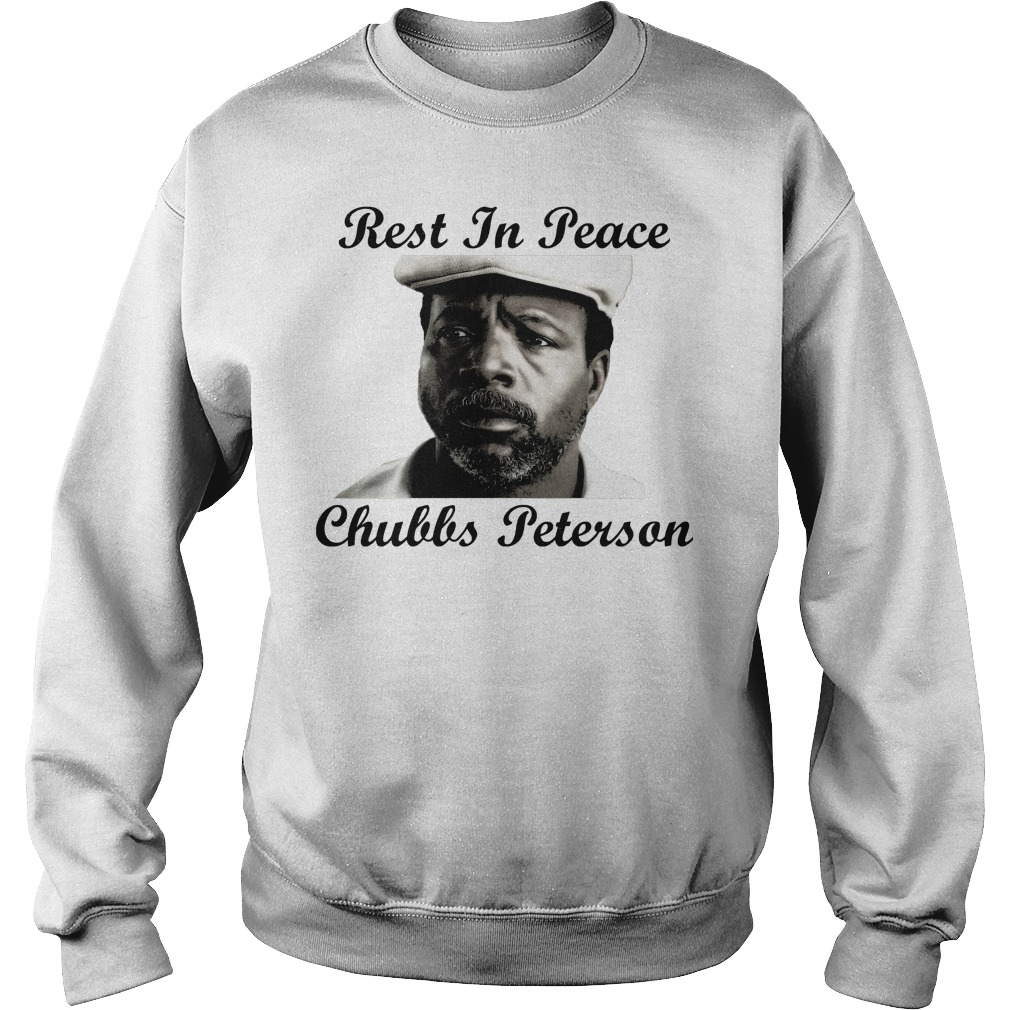 Rest In Peace Chubbs Peterson Happy Gilmore Sweater