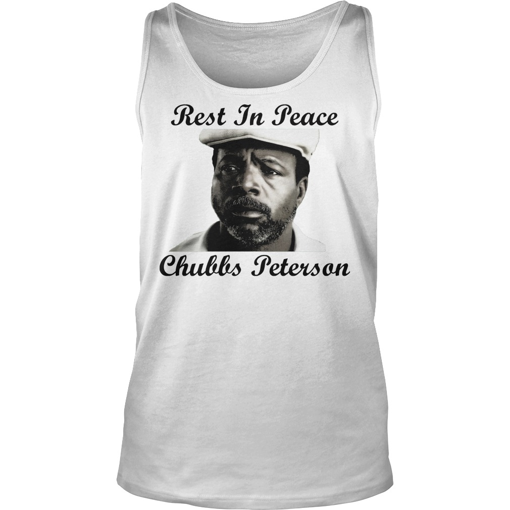 Rest In Peace Chubbs Peterson Happy Gilmore Tanktop