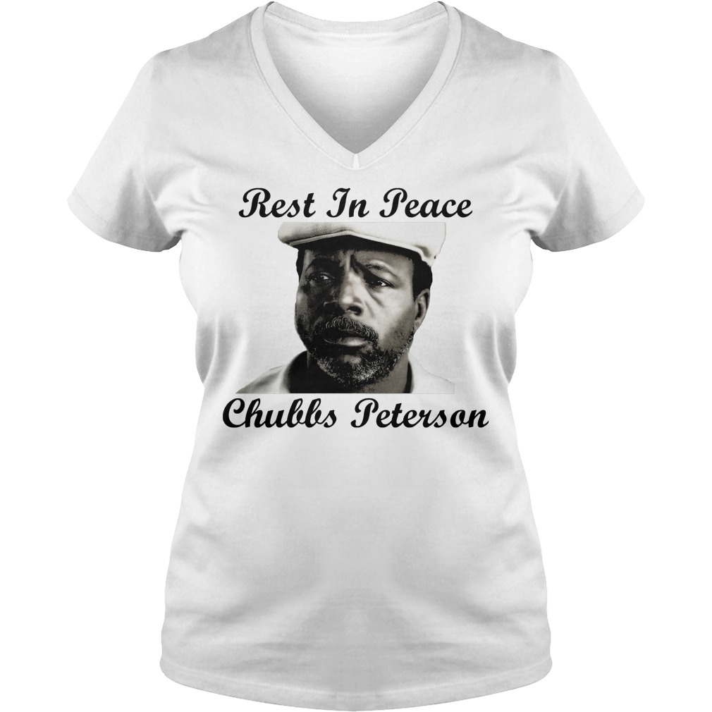 Rest In Peace Chubbs Peterson Happy Gilmore V Neck