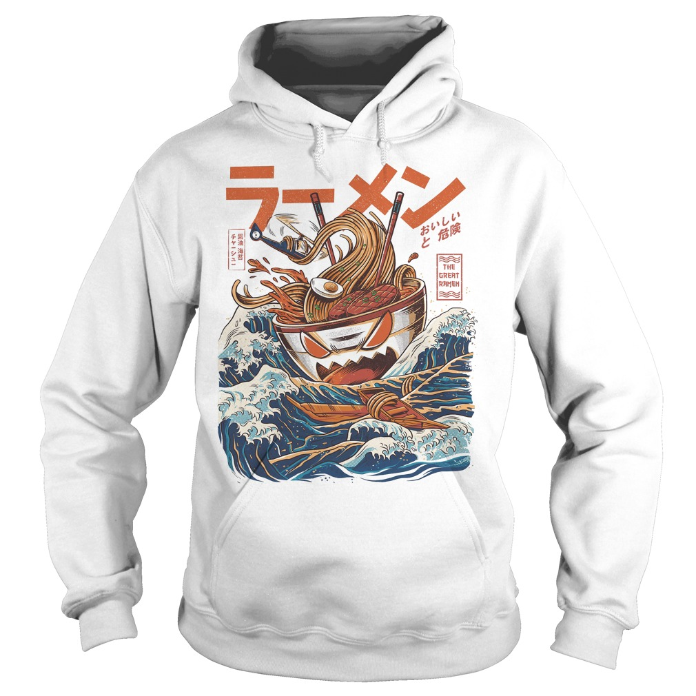 The Great Ramen Off Kanagawa Hoodie