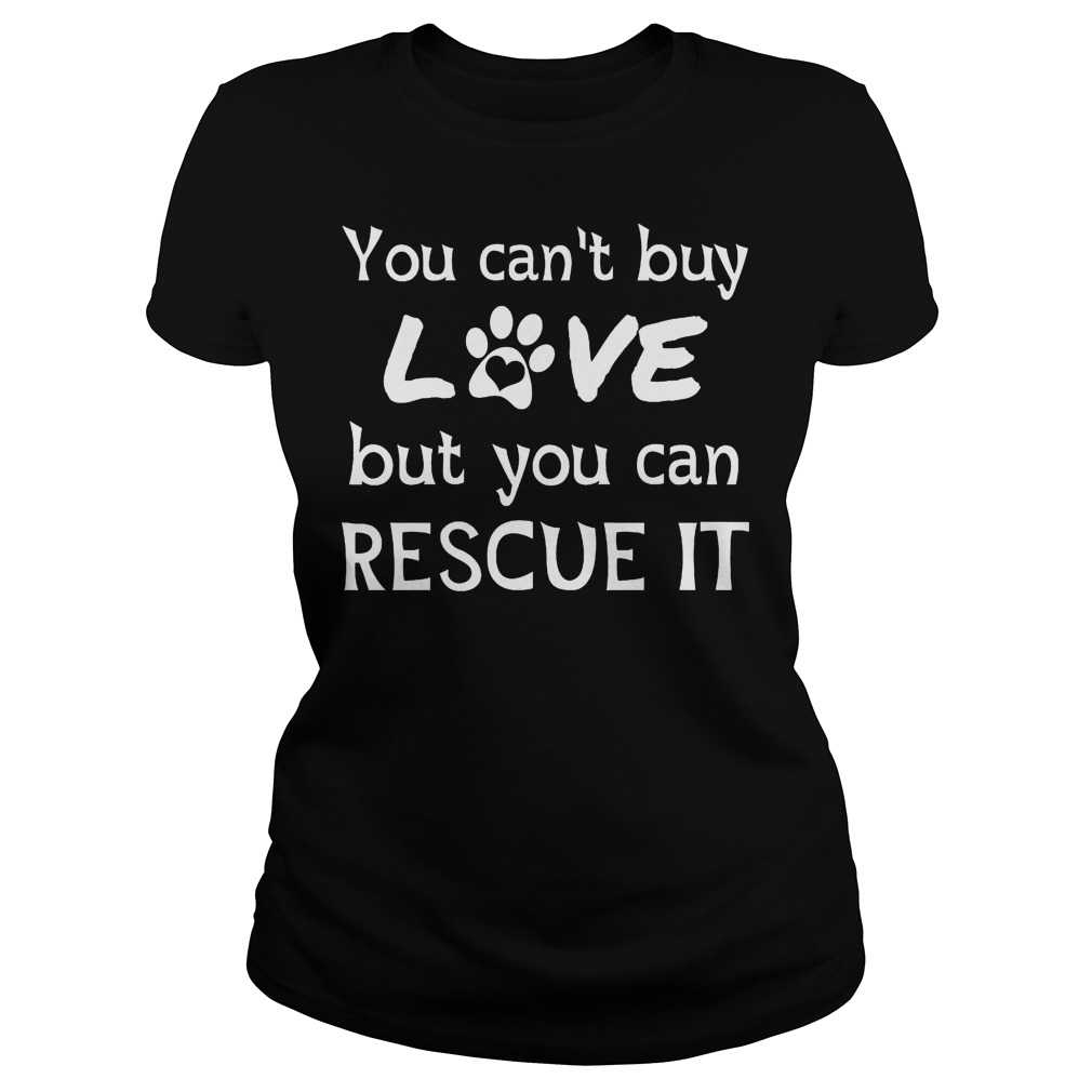 You Can't Buy Love But You Can Rescue It Ladies