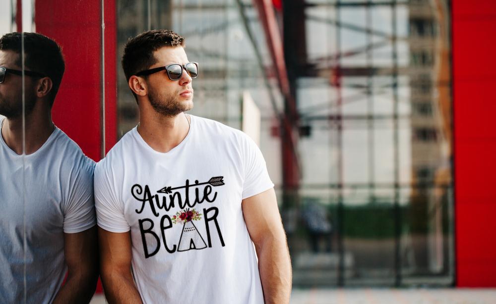 Auntie Bear T Shirt